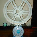 CARVING STARK MS 17inch 7.5J offset+40mm PCD114.3mm-5H重量計測画像