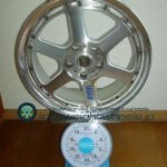 RAYS VolkRacing GT-P 17inch 7j offset+29mm pcd114.45h重量計測画像