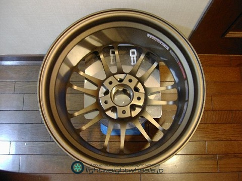 RAYS VOLKRacing RE30 17inch8.5Joffset+30mmPCD114.3mm-5h裏側