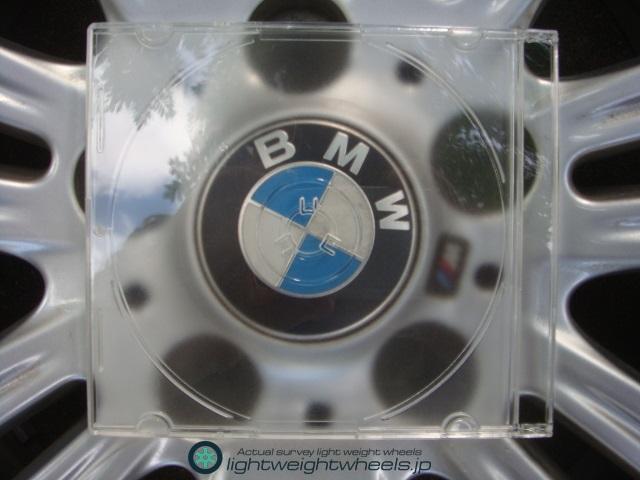 CD・DVDはBMW用ホイールと同じサイズ