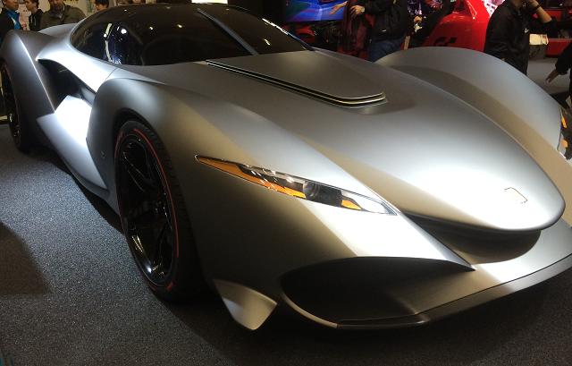 sony gt Zagato IsoRivolta Vision Gran Turismo concept