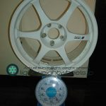 SSR type C 18inch8.5Joffset+32mmpcd114.3mm5H重量計測画像