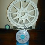 PRODRIVE GC-010 DT 15inch 7J offset+43mm PCD100mm-5h重量計測画像