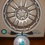 RAYS VOLKRacing RE30 17inch 7.5J offset+50mm PCD100mm-5h重量計測画像