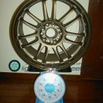 RAYS VOLK Racing RE30 17inch 8.5j offset+30mm PCD114.3mm-5h重量計測画像