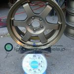 RAYS TE37 GRAVEL 15inch 6.5j offset+39mm PCD1005h重量計測画像