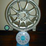 RAYS VOLK Racing CE28N 16inch 8J offset+49mm pcd114.3mm-5H 重量計測画像