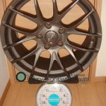 Breyton RACE GTS-R 18inch 8.5J offset+48mm PCD120mm-5H 重量計測画像