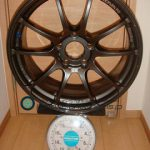YOKOHAMA ADVAN Racing RZ 18inch 8J offset+45mm PCD120mm-5H 重量計測画像