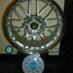 RAYS VOLK Racing SE37A 18inch 8.5J offset+45mm PCD114.3mm-5H 重量計測画像