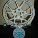 WEDS SPORT TC-005 16inch 7J offset+42mm PCD114.3mm-5H 重量計測画像