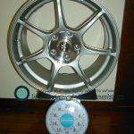ENKEI Racing RS+m 17inch 8J offset+48mm PCD114.3mm-5H 重量計測画像その2