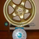 AUTO STRADA SPREAD-CUP 16inch 7J offset+35mm PCD98mm-5H 重量計測画像その2