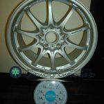 RAYS VOLK Racing CE28N 17inch 8J offset+44mm PCD114.3mm-5H 重量計測画像