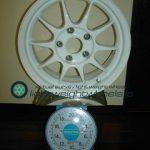 ENKEI SPORT ES-TARMAC 15inch 6.5J offset+40mm PCD114.3mm-5H 重量計測画像