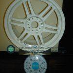 CARVING STARK MS 17inch 7.5J offset+30mm PCD114.3mm-5H 重量計測画像