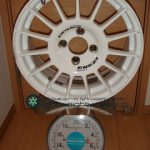ENKEI SPORT RC-T4 15inch 6.5J offset+40mm PCD100mm-4H 重量計測画像