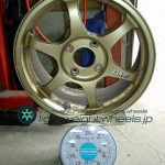 SSR TYPE C 16inch 7J offset+42mm PCD114.3mm-4H 重量計測画像
