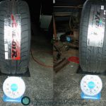Tire weight comparison