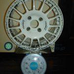 ENKEI SPORT ES-GRAVEL 15inch 6.5J offset+45mm PCD114.3mm-4H 重量計測画像