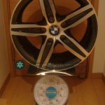 BMW star spoke styling 379 17inch 7.5 offset+43mm PCD120mm-5H重量計測画像