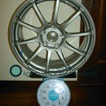 YOKOHAMA ADVAN Racing RS 17inch 8J offset+47mm PCD112mm-5H重量計測画像
