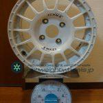 ENKEI SPORT ES-GRAVEL 15inch 6.5J offset+45mm PCD114.3mm-4H 重量計測画像その2