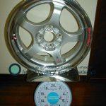 TAKECHI PROJECT RACING HART CP-F Tune R 15inch 6J offset+35mm PCD100mm-4H重量計測画像