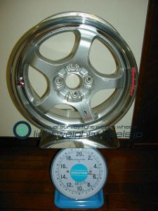 TAKECHI PROJECT RACING HART CP-F Tune R 15inch 6J offset+35mm PCD100mm-4H重量計測画像