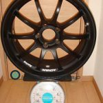 YOKOHAMA ADVAN Racing RS-D 18inch 8J offset+45mm PCD114.3mm-5H重量計測画像