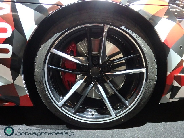 A90 TOYOTA Supra prototype Front Tire