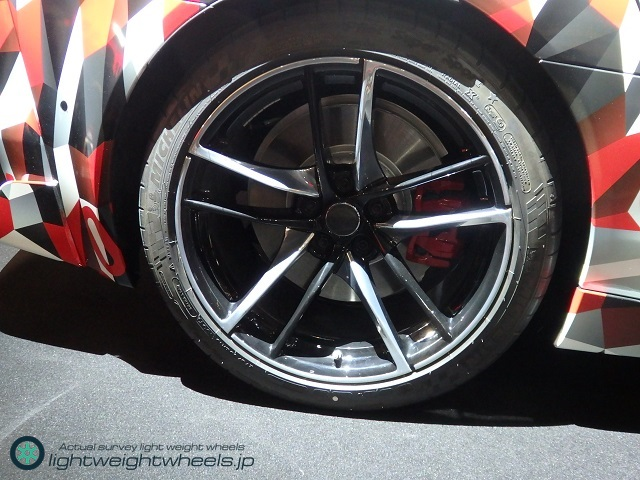 A90 TOYOTA Supra prototype Rear Tire