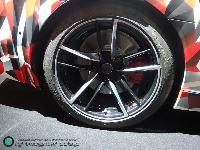 A90 TOYOTA Supra prototype Rear Tire