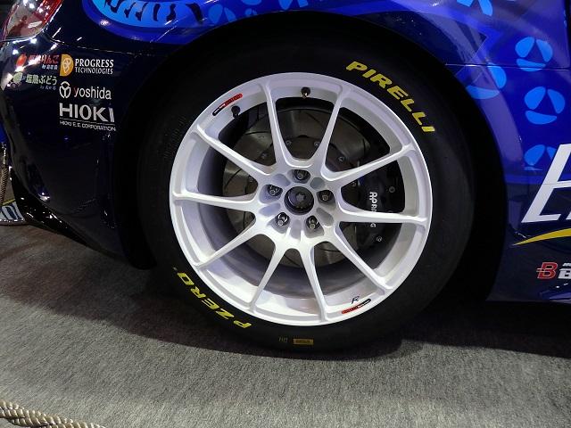 ENDLESS Mercedes AMG-GT REAR ENKEI