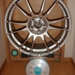 OZ ULTRA LEGGERA 19inch 8J offset+38mm PCD110mm-5H 重量計測画像