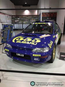 Gr.Aスバル インプレッサ555 WRC98アクロポリスラリー優勝車