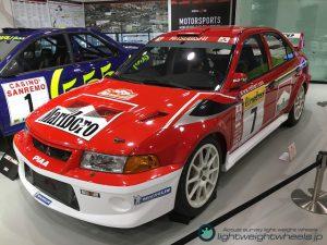 Gr.A三菱ランサーエボリューション6 WRC2001モンテカルロラリー優勝車