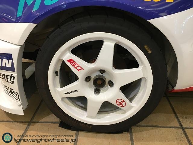 トヨタ カローラWR-Car(プロトタイプ)前輪