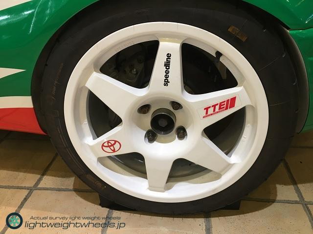 トヨタ カローラWR-Car(プロトタイプ)後輪