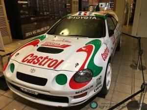 Gr.Aトヨタ セリカGT-Four ST205 1995年コルシカラリー優勝車(レプリカ)前