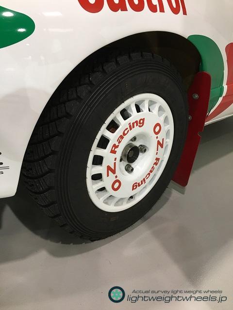 Gr.Aトヨタ セリカGT-Four ST185 1993年オーストラリアラリー優勝車前輪