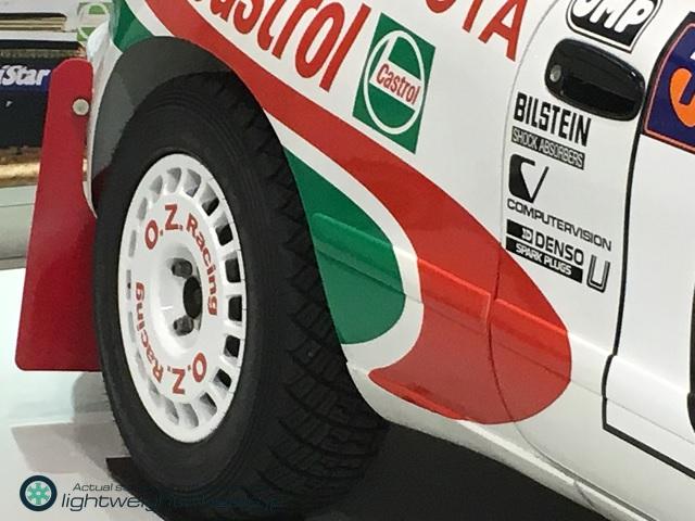 Gr.Aトヨタ セリカGT-Four ST185 1993年オーストラリアラリー優勝車後輪