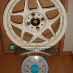 SSR Racing Firenze PRO 15inch 6.5J offset+33mm PCD100mm-4H 重量計測画像