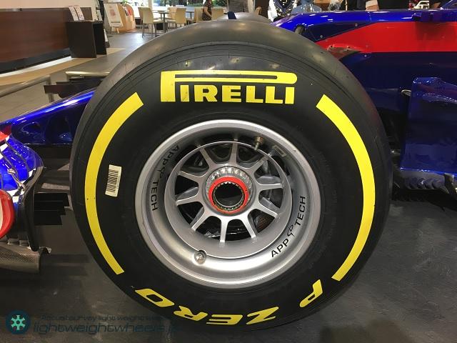 Red Bull Toro Rosso Honda STR13RW前輪