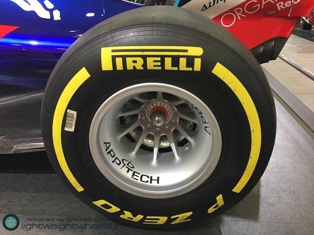 Red Bull Toro Rosso Honda STR13RW後輪