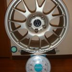 AUTO STRADA SPREAD-M7 17inch 7.5J offset+35mm PCD112mm-5H 重量計測画像