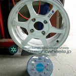 SSR TYPE C 15inch 7J offset+42mm PCD114.3mm-4H 重量計測画像
