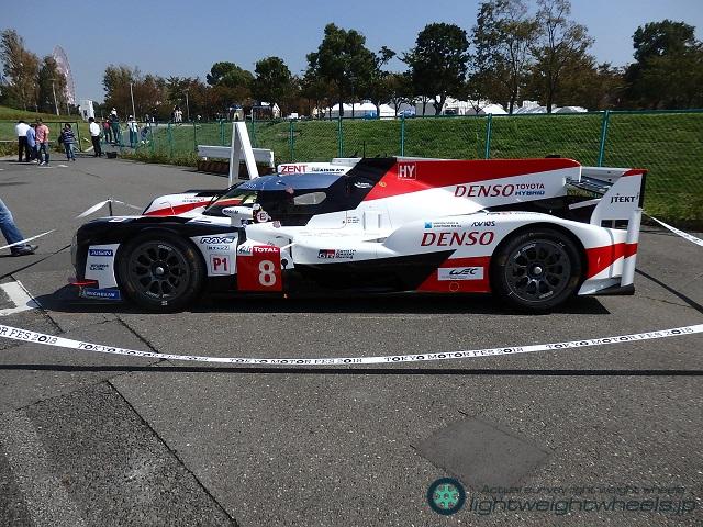 TOYOTA GAZOO Racing TS050 HYBRID全景