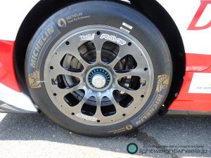 TOYOTA GAZOO Racing TS050 HYBRID後輪