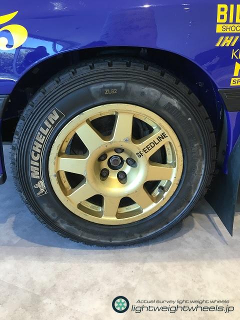 SUBARU LEGACY RS 555 前輪